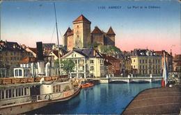 60832281 Annecy Haute-Savoie Port Chateau / Annecy /Arrond. D Annecy - France