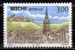 F+ Frankreich 1996 Mi 3153 3175 Bitche, UNICEF - Oblitérés