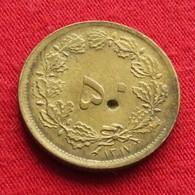 Iran 50 Dinars 1938 / SH 1317 KM# 1142 Lt 316  Irão Persia Persien - Iran