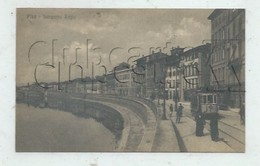 Pisa (Italie, Toscana) : Tramway Lungarno Regio Env 1910 (animé)  PF. - Pisa