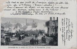 TERRE NEUVE - ST PIERRE - INCENDIE DU 1ER NOVEMBRE AU 2 NOVEMBRE 1902 - Saint-Pierre-et-Miquelon