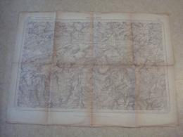 Carte Militaire BEAURAING (franco-belge). - Documents