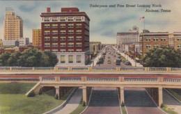 Texas Abilene Underpass And Pine Street Looking North - Abilene
