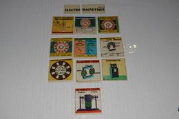 Lanterne Magique Projecteur Aspect Mazo Plastic Pédagogique Enseignement Cours Electro Magnétique 10 Vues 2 - Autres Collections