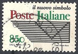 """Italia, 1995 Ente """"Poste Italiane"""", 750L # Sassone 2195 - Michel 2414A - Scott 2060  USATO - 1946-.. République"""