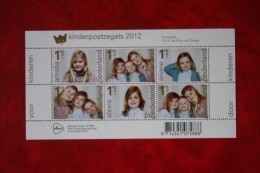Kinderzegels NVPH 3001 (Mi Block 146 3045-3050) 2012 POSTFRIS MNH ** NEDERLAND / NIEDERLANDE / NETHERLANDS - Periodo 1980 - ... (Beatrix)