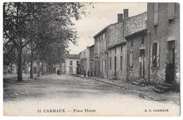 CARMAUX - Place Thiers - Carmaux