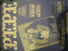 Pepe - Jacqueline Boyer - Partituren
