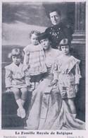 La Famille Royale De Belgique éditeur J. F.-V. - Zonder Classificatie