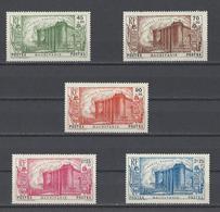 MAURITANIE. YT N°100/104  Neuf * 1939 - Neufs