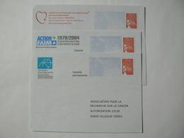 PRET à Poster Réponse, Luquet RF, 3 Enveloppes Neuves, TB. - Entiers Postaux