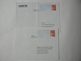 PRET à Poster Réponse, Luquet RF, 2 Enveloppes Neuves, TB. - Entiers Postaux