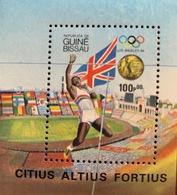 GUINEA-BISSAU 1984 LOS ANGELES 84' SUMMER OLYMPICS FLAGS MINI SHEET # 261 MNH 20013-6 - Summer 1984: Los Angeles