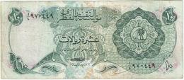 Qatar 10 Riyals 1973 Ref 3 - Qatar