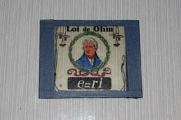 Lanterne Magique Projecteur Aspect Mazo Pédagogique Verre Enseignement Cours Loi De Ohm - Autres Collections