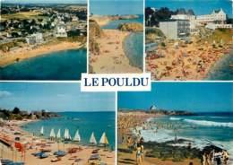 LE POULDU Vue Aerienne La Plage Du Kerou 8(SCAN RECTO VERSO)MF2713 - Le Pouldu