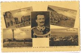 Cartolina - Postcard / Viaggiata - Sent / Ricordo Della Venuta In Messina Di S.M. Vittorio Emanuele III — Ottobre 1907 - Messina