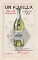 Publicité Apéritif PEUREUX / Parfum Anis / 70 Fougerolles / Marseille / St Denis - Alcools