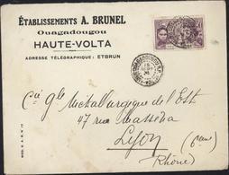Haute Volta YT 67 Exposition Coloniale Internationale CAD Ouagadougou 15 9 31 Enveloppe A Brunel - Haute-Volta (1920-1932)
