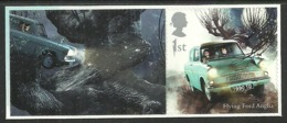 GB 2018 HARRY POTTER SINGLE VALUE WITH LABEL CARS FORD ANGLIA MNH - 1952-.... (Elizabeth II)
