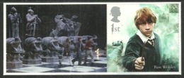GB 2018 HARRY POTTER SINGLE VALUE WITH LABEL CHESS RON WEASLEY MNH - Neufs