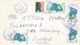 Tchad 1992 Ndjamena Leclerc Hairdress Democracy Day Elections 10f 20f Cover - Chad (1960-...)