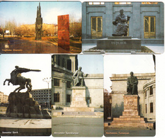 ARMENIA - Set Of 5 ArmenTel Telecards 50 Units, Monuments, Tirage 20000, Exp.date 31/12/06, Samples(no Chip, No CN) - Arménie