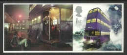 GB 2018 HARRY POTTER SINGLE VALUE WITH LABEL KNIGHT BUS MNH - 1952-.... (Elizabeth II)