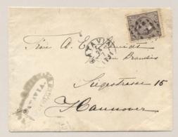 Nederlands Indië - 1891 - 25 Cent Willem III Op Cover Van Batavia Naar Hannover / Deutschland - Nederlands-Indië