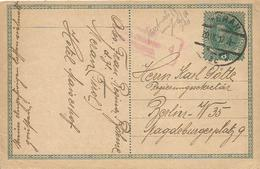 Austria Süd Tirol 1917 Meran Merano Censored Postcard To Regierungssekretär Berlin High Government Official - Merano