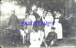 104330 RUSSIA BIELO RUSSIA BELARUS BEREZA KARTUSKA COSTUMES SOLDIER MILITARY & NURSE POSTAL POSTCARD - Russland