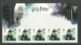 GB 2018 HARRY POTTER CHARACTER PACK OF 5 STAMPS CHESS RON WEASLEY MNH - Neufs