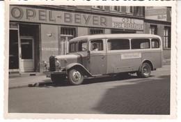 3307   OPEL -BEYER   FOTO  9,5  X 6,5 CM - Camions