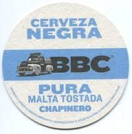 Lote 452, Colombia, Posavaso, Coaster, BBC, Cerveza Negra - Beer Mats