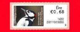 Nuovo - MNH - IRLANDA - EIRE - 2013 - Animali E Vita Marina  - Picchio - Great Spotted Woodpecker (Dendrocopos Major) - - Affrancature Meccaniche/Frama