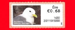 Nuovo - MNH - IRLANDA - EIRE - 2013 - Animali E Vita Marina  - Gabbiano - Kittiwake (Rissa Tridactyla) - 0.68 - 264 - Affrancature Meccaniche/Frama