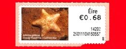 Nuovo - MNH - IRLANDA - EIRE - 2013 - Animali E Vita Marina  - Stella Marina - Cushion Star (Asterina Gibbosa) - 0.68 - - Affrancature Meccaniche/Frama