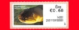 Nuovo - MNH - IRLANDA - EIRE - 2013 - Animali E Vita Marina  - Pesci - Eel (Anguilla Anguilla) - 0.68 - 267 - Affrancature Meccaniche/Frama
