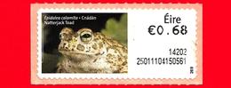 Nuovo - MNH - IRLANDA - EIRE - 2013 - Animali E Vita Marina  - Rana - Natterjack Toad (Bufo Calamita) - 0.68 - 269 - Affrancature Meccaniche/Frama