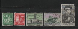 Tschechoslowakei CSSR 1960 MiNr.: 1188; 1190; 1211; 1214; 1216 Gestempelt Mit Falz; Used Hinged - Tchécoslovaquie