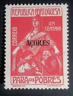 1915 Açores Mi:PT-AZ Z5, Sn:PT-AZ RA3, Yt:PT-AZ 197 For The Poor  Taxa Benéfica . Neuf Charnière TBE - Açores