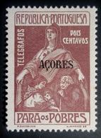 1915 Açores  Mi:PT-AZ Z6, Afi:PT-AZ IP6 For The Poor  Taxa Benéfica . Neuf Charnière TBE - Açores
