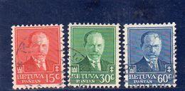 LITUANIE 1934 O - Lituanie