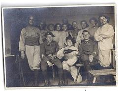 CHASSEURS ALPINS   PHOTO SEPIA - Guerre, Militaire