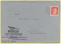 Deutsches Reich - 1942 - 8 - Lustra - Viaggiata Da Mannheim Per Gera - Deutschland