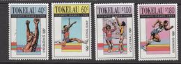 1992 Tokelau Olympics Barcelona Volleyball Swimming Complete Set Of 4 MNH - Tokelau