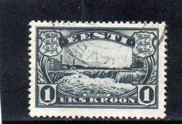 ESTONIE 1933 O - Estonie