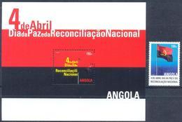 Angola 2013 Reconciliation Day, 1 M. Block - Angola