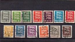 ESTONIE 1928-9 O - Estonie