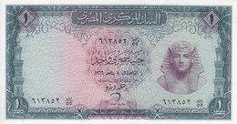 EGYPT 1 EGP 1966 P-37 Sig/ ZENDO #10  UNC */* - Egypt